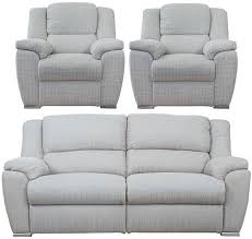 Recliner Sofa Suite Buy Buoyant 3 1 1 Seater Fabric Recliner Sofa Suite