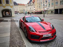 porsche matte red gt4 stripes u0026 decal photos page 4
