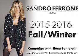 sandro ferrone fall winter 2015 2016 sandro ferrone veste l autunno e l inverno