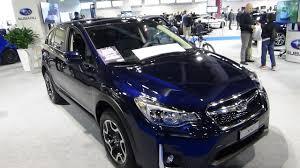 subaru xv interior 2016 2017 subaru xv swiss three exterior and interior zürich car