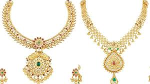 necklace design with price images Light weight gold necklace designs with price in rupees jpg