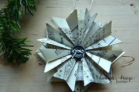 how to make paper ornaments harbour home