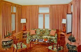 1940 Homes Interior | 1940 s home decor warp around living room wall cabinetry my