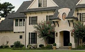 earth tone exterior house colors exterior traditional with brick