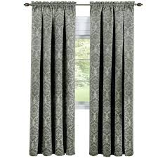 light filtering faux wood blinds blinds the home depot blackout sutton 36 in l polyester waterfall valance in sage