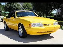 1993 mustang lx for sale 1993 ford mustang lx 5 0 convertible for sale