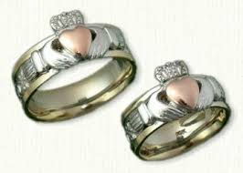 claddagh rings meaning claddagh rings gimmel rings custom claddaugh wedding bands
