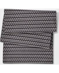 zig zag table runner deals on black zigzag table runner project 62 black zig zag
