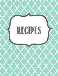 recipe cover page template 26 recipe binder free printable