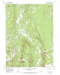 Lake Mead Map Lyman Lake Topographic Map Ut Wy Usgs Topo Quad 40110h5