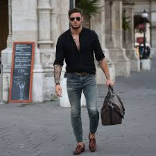 Mens Rugged Fashion 581 Best Black Images On Pinterest Menswear For Men And