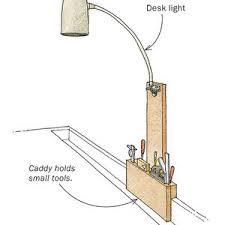 Workbench Lighting Flexible Task Lighting For The Workbench Finewoodworking