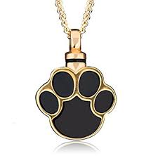 memorial jewelry for ashes charmsstory ashes pet dog cat paw print cremation urn