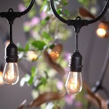 patio lights uk decoration ove decors ft oversized edison light bulbs blackgold