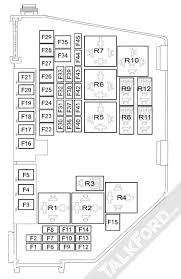 fuse u0026 relay information mk4 mondeo mk4 2007 2014 talkford