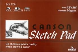 the oil paint store canson sketch pad
