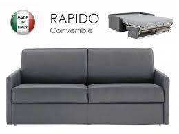 canape lit rapido canapé convertible lit rapido sun 2 3 places cuir gris