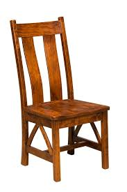 Swedish Wooden High Chair Amish Furniture Hand Crafted Solid Wood Chairs Amish Traditions