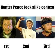 Hunter Pence Memes - hunter pence look alike contest imgur