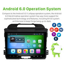 inch android 6 0 touch screen radio bluetooth gps navigation