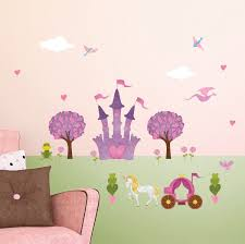 princess wall stickers peel stick decals for princess wall decor princess wall sticker peel stick decals for princess wall mural with large princess castle