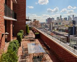 this nyc party penthouse comes with a huge terrace and a sick