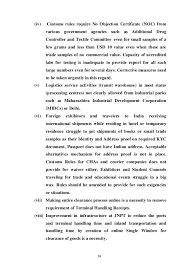 no objection certificate india format parliamentary commitee report on ease of doing business