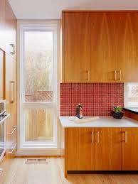 Red Tile Backsplash - glass mosaic tile backsplash marble floor