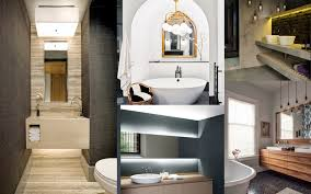8 creative bathroom lighting designs that u0027ll make your 2017