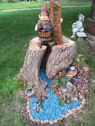 Craft Ideas For The Garden Tree Stump Ideas Garden Dunneiv Org