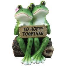 Decorative Frogs Amazon Com Happy Frog Couple
