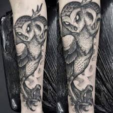 two owls half sleeve tattoo u2013 tattoos center