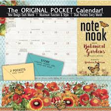 botanical calendars botanical gardens 2019 pocket wall calendar calendars
