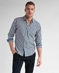 Mens Shirts  Casual Dressy  Plaid Button Up Shirts
