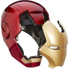Iron Man Marvel Legends Iron Man Electronic Helmet Walmart Com