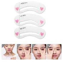 2pcs new eyeliner card auxiliary tools eyeliner stencils makeup
