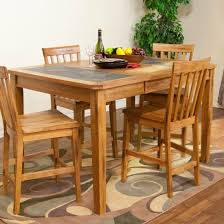 sunny designs 1274ro sedona extension table in rustic oak with