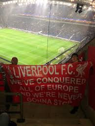 Blue And White Flag With Red C Lfc Flags U0026 Banners Lfc Banners Twitter