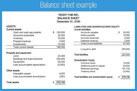 Accounting Balance Sheet Template Doc 625359 Balance Sheets Format Balance Sheet Exle