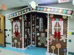 Winter Wonderland Decorations For Office Sweetlooking Gingerbread Door Decoration Ingenious House Winter