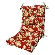 patio chair cushion set of 4 wicker furniture outdoor high back