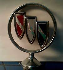 1981 plymouth reliant chrome ornament emblem w mounting base