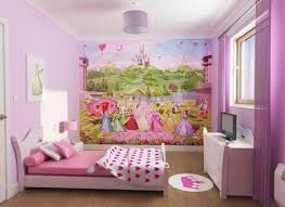 awesome black and pink wall color combination with white wooden