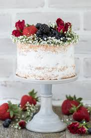 wedding cake recipes berry berry cake recipe a cake featuring 2 layers