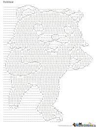 Ascii Art Meme - pedobear ascii art by kickalfin meme center