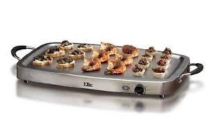 Elite Platinum Stainless Steel Buffet Server by Elite Platinum Ewm 9933 Maxi Matic 2 5qt 3 Tray Buffet Server Ss