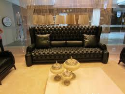 Chesterfield Sofa Set Luxury High Back Leather Chesterfield Sofa Set Living Room