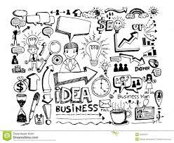 doodle presentations doodle business doodles stock illustration image 34953757