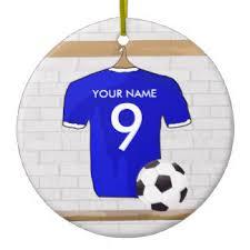 soccer jersey ornaments keepsake ornaments zazzle
