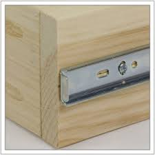How To Fix Cabinet Drawer Slides How To Install Drawer Slides U2039 Build Basic